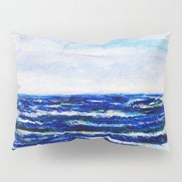 Ocean Waves Pillow Sham