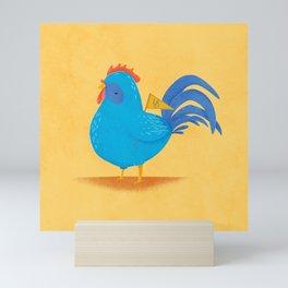 Blue Hen Mini Art Print