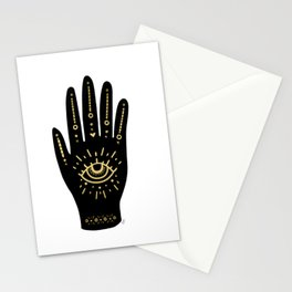 Evil Eye Hand Stationery Cards