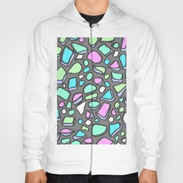 Sea Glass - Gray Background Hoody