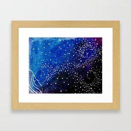 star dust Framed Art Print