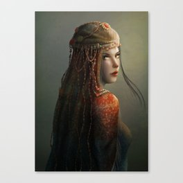 Princess from the East Canvas Print