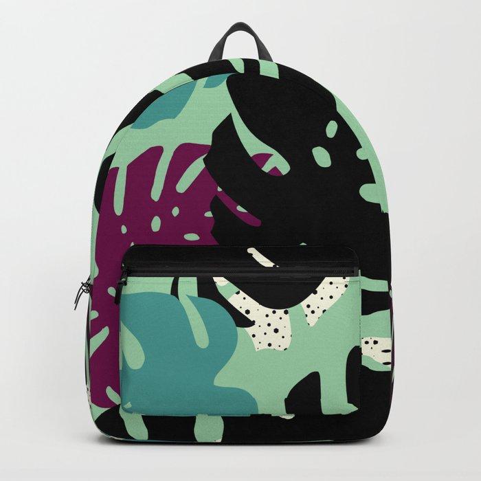 Monstera 02 Backpack