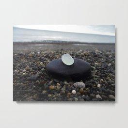 Simplicity at the Beach Metal Print