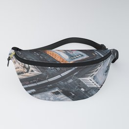 USA Photography - Chicago From Bird Perspective Fanny Pack