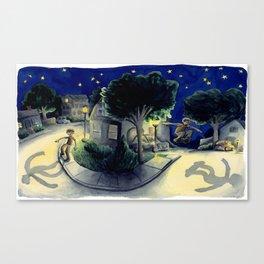 Sidewalk Bump 2 Canvas Print
