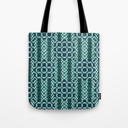 Turquoise Tote Bag