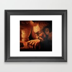 Incredulity of Thomas Framed Art Print