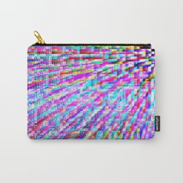 colorful pixels Carry-All Pouch