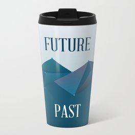 Past and Future Metal Travel Mug