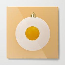 Eggy Xmas Metal Print