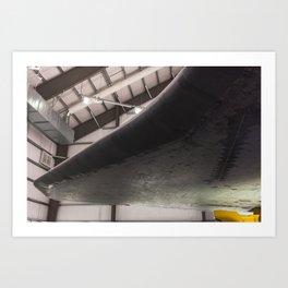 Space Shuttle Endeavour I Art Print