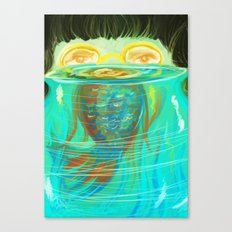 Fish Bowl Canvas Print