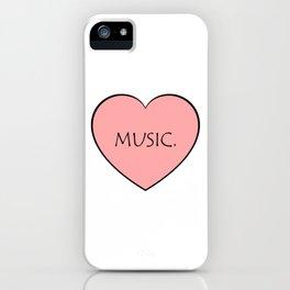 Music. iPhone Case