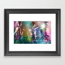 Dolce and Gabana Framed Art Print