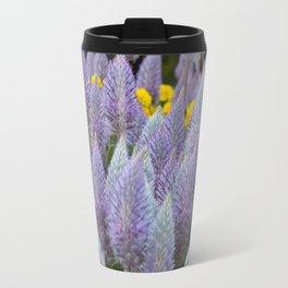 Australian Foxtail Flower Travel Mug