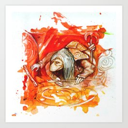DARK CRYSTAL - UR-RU Art Print
