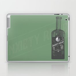Cure for Anxiety by Austin Moore Laptop & iPad Skin