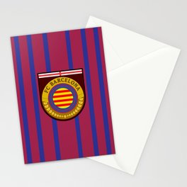 Catalonia Football Badge Stationery Cards