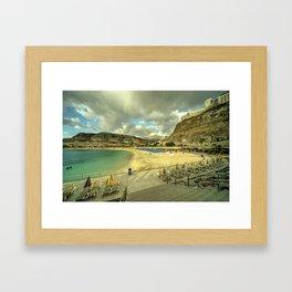 Amadores Sky  Framed Art Print
