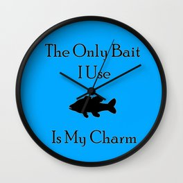 Charming Bait Wall Clock