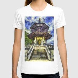 The Pagoda Vincent Van Gogh T-shirt