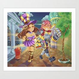 Caitlyn and Vi Art Print