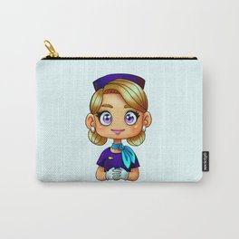 "Flight Attendant: ""Dee"" Carry-All Pouch"