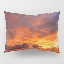 Burning Sunset Pillow Sham