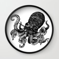 Octopus Wall Clock
