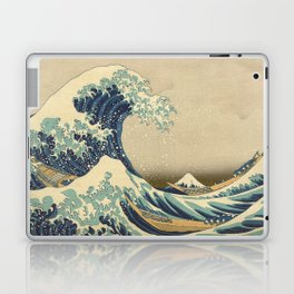 The Great Wave - Katsushika Hokusai Laptop & iPad Skin