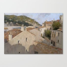 Tossa de Mar Canvas Print