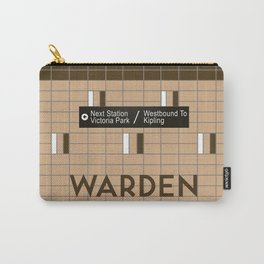 WARDEN | Subway Station Carry-All Pouch