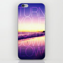Lights out iPhone Skin