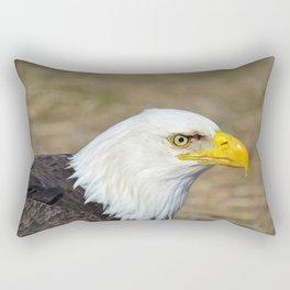 Alaskan Bald_Eagle Profile Rectangular Pillow
