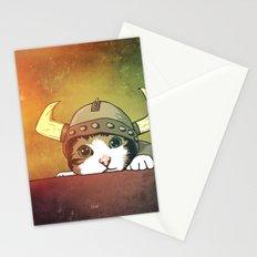 Viking Kitty Stationery Cards