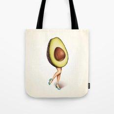 Avocado Girl Tote Bag