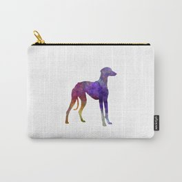 Arabian Greyhound in watercolor Carry-All Pouch