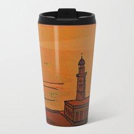 Good Morning / New and Old Lighthouse Fuencaliente La Palma Travel Mug