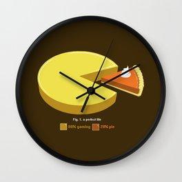 A Perfect Life Wall Clock