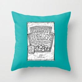 The Musical Fruit Throw Pillow