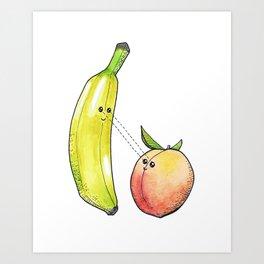 Fruit Love Art Print