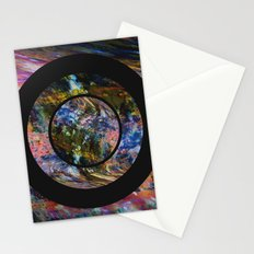 Space Marble Stationery Cards