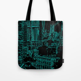 City of the Future Tote Bag
