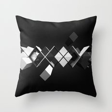 Argyle Deconstruction Throw Pillow
