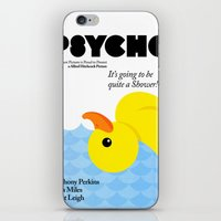 psycho iPhone & iPod Skins featuring Psycho by Chá de Polpa