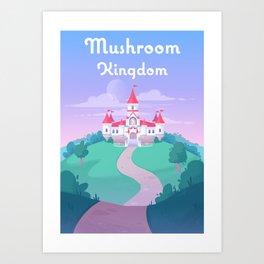Mushroom Kingdom Kunstdrucke