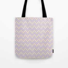 Chevron flowers - Orchid Hush Tote Bag