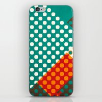 dots iPhone & iPod Skins featuring Dots by SensualPatterns