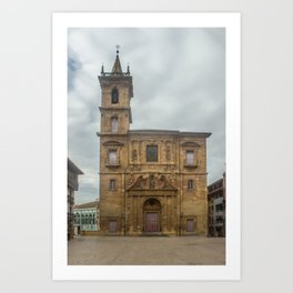 San Isidoro El Real Church, Oviedo Art Print
